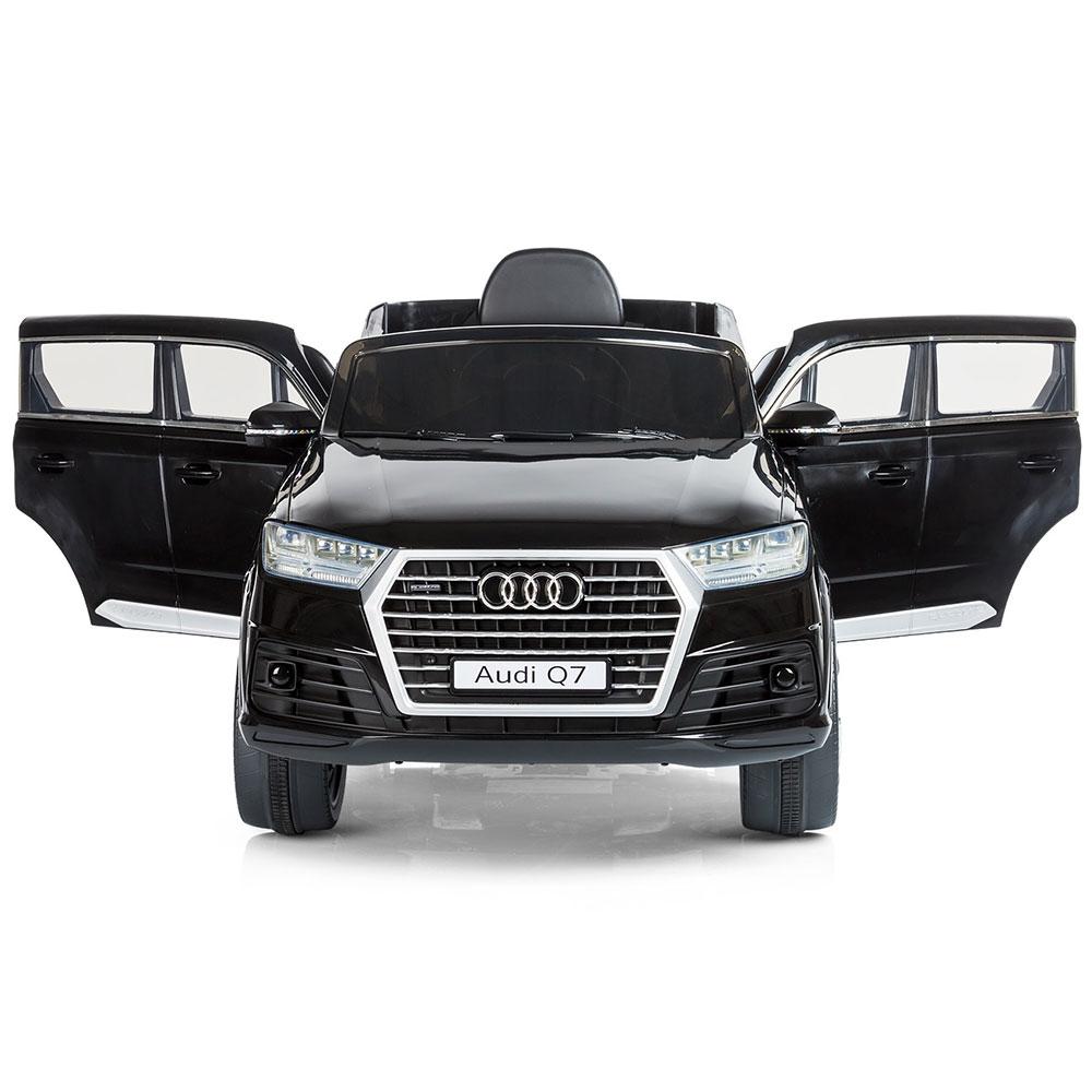 Masinuta electrica Chipolino Suv Audi Q7 black cu roti Eva - 2