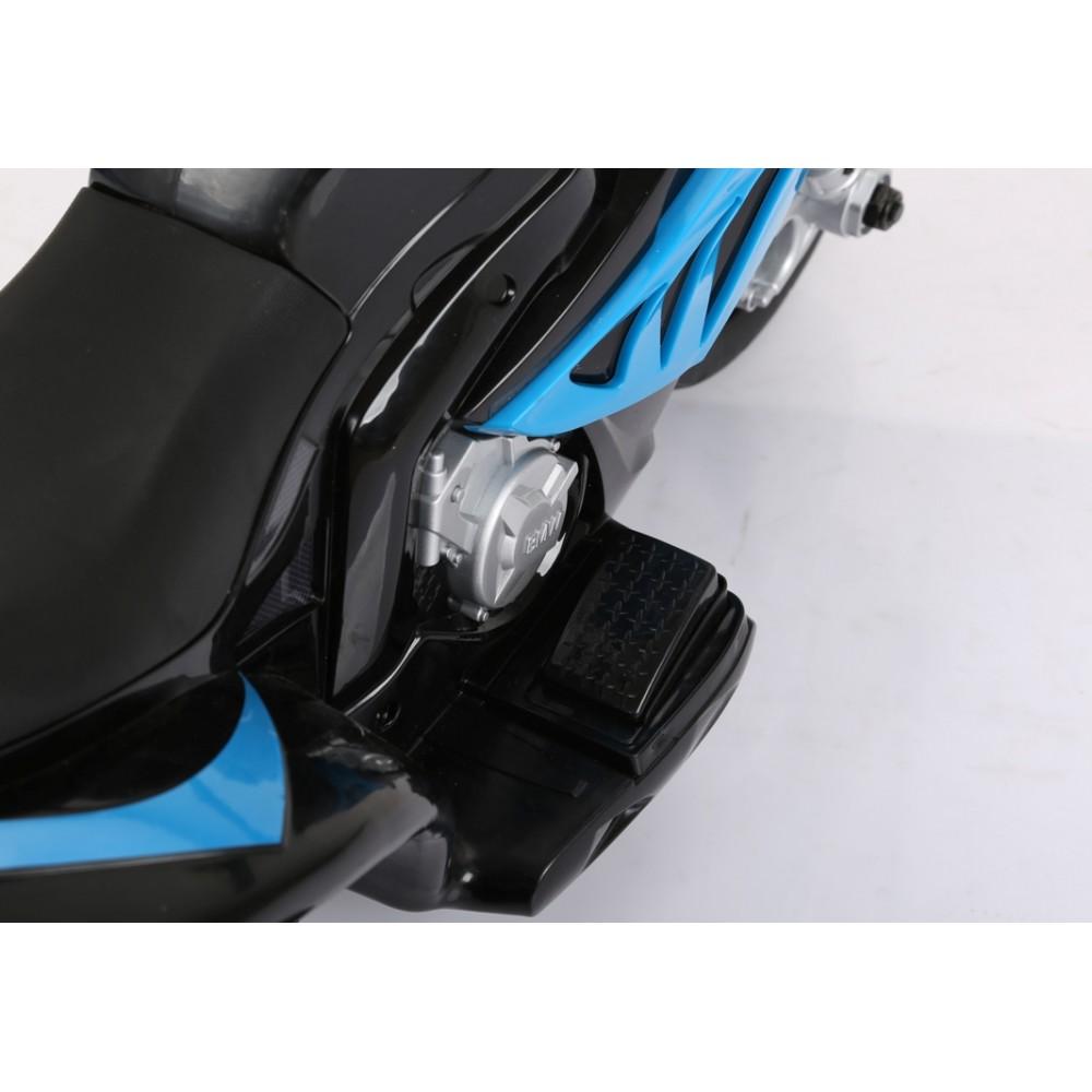 Motocicleta electrica 6V BMW S1000R albastru