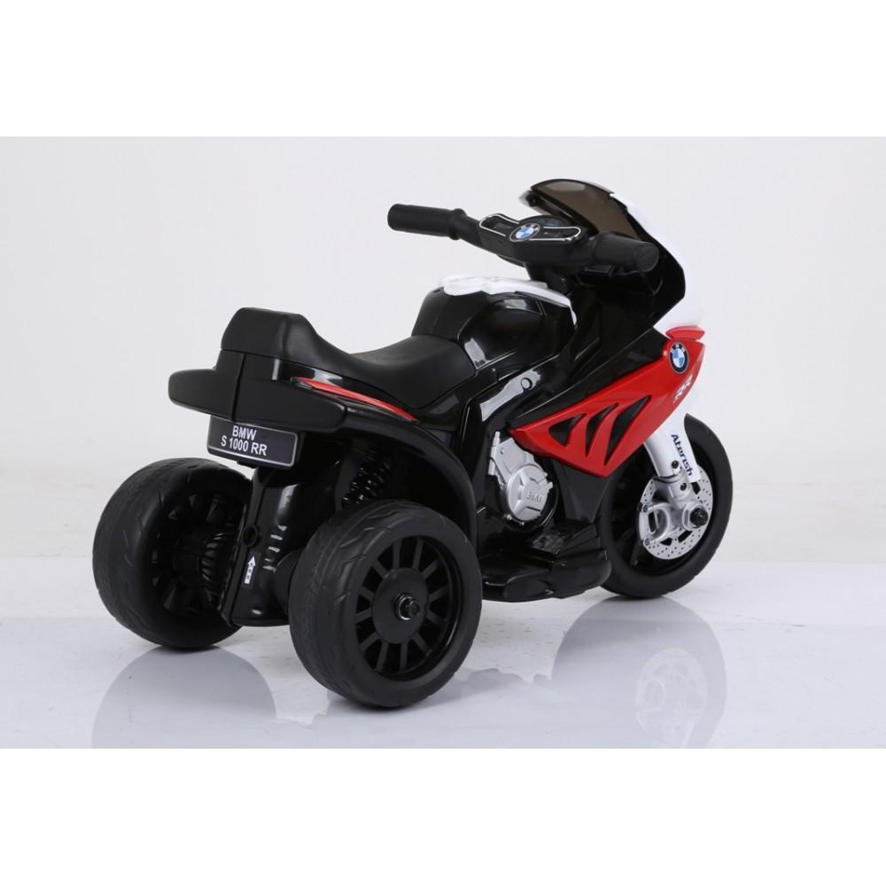 Motocicleta electrica 6V BMW S1000R rosu