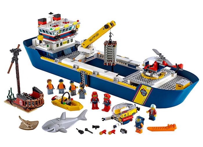 Lego City nava de explorare a oceanului