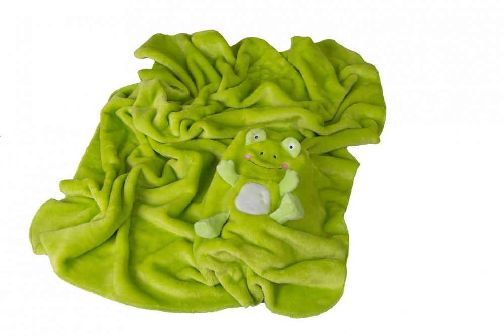 Paturica din plus cu mascota Frog Green 03