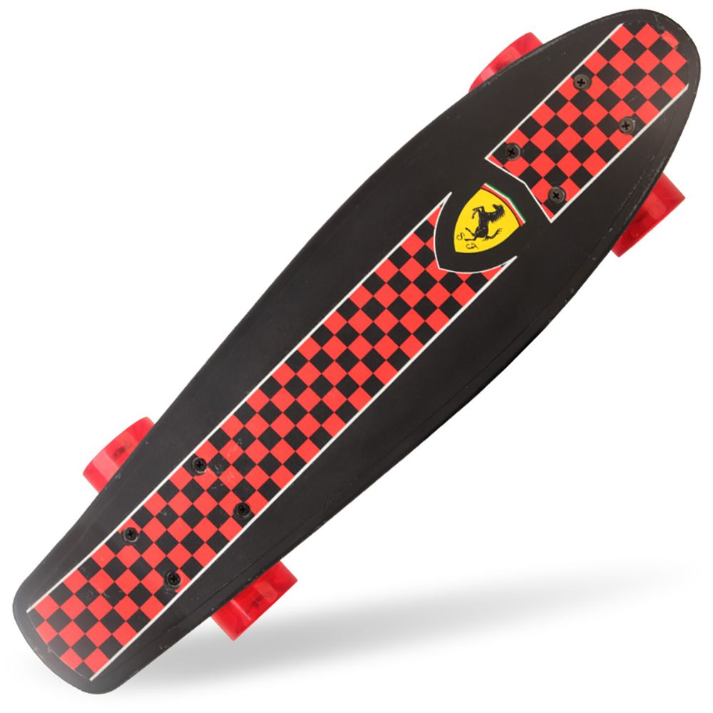 Penny board Ferrari negru imagine