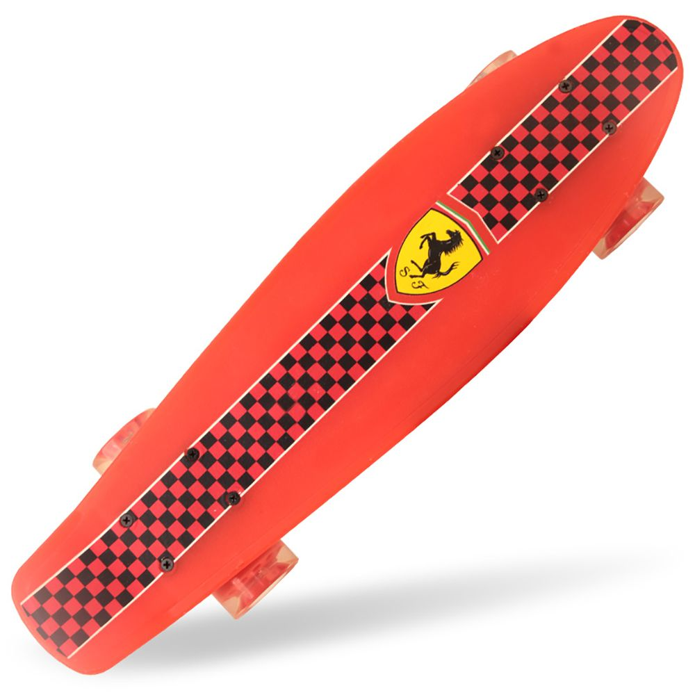 Penny board Ferrari rosu pentru copii imagine