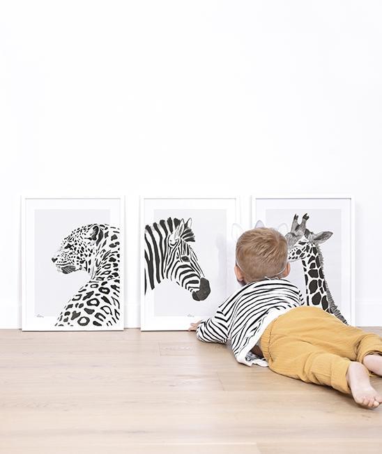Poster (30x40cm) Serengeti Zebra imagine