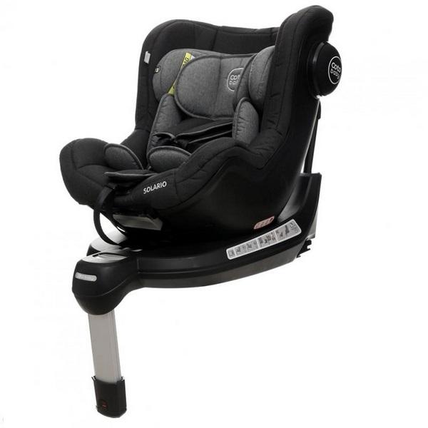 Coto Baby Scaun auto Coto Baby Solario Melange Black 360 grade isofix 0-18 kg