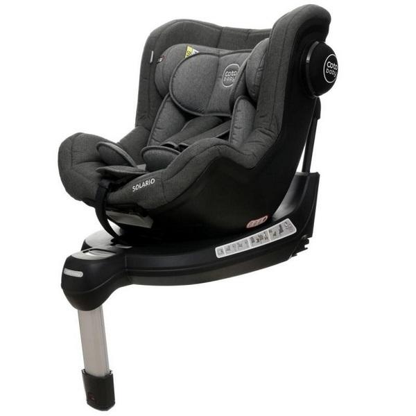 Coto Baby Scaun auto Coto Baby Solario Melange Grey 360 grade isofix 0-18 kg