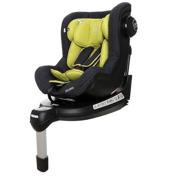 Coto Baby Scaun auto Coto Baby Solario Melange Olive 360 grade isofix 0-18 kg