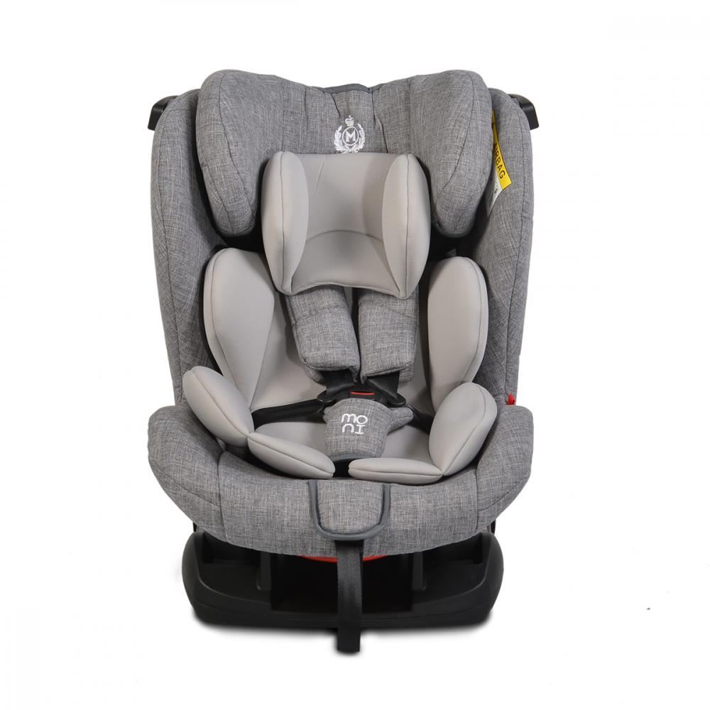 Scaun auto Moni 0-36 kg Marshal light grey imagine