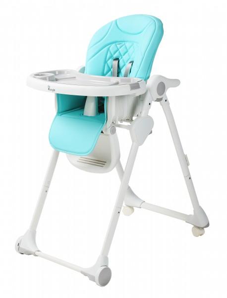 Scaun De Masa Pentru Copii Bo Jungle Wheely Bleu