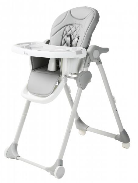 Scaun de masa pentru copii Bo Jungle Wheely Gri