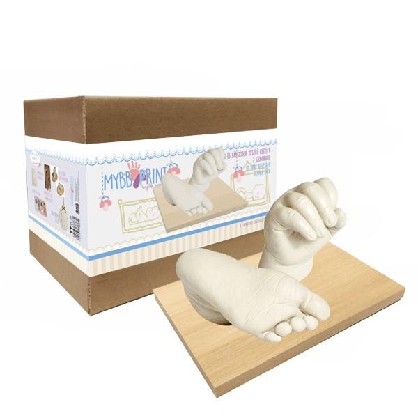 Set de sculptura 3D Extra ManaPicior Bebelus (cu galetuta) Baby Print