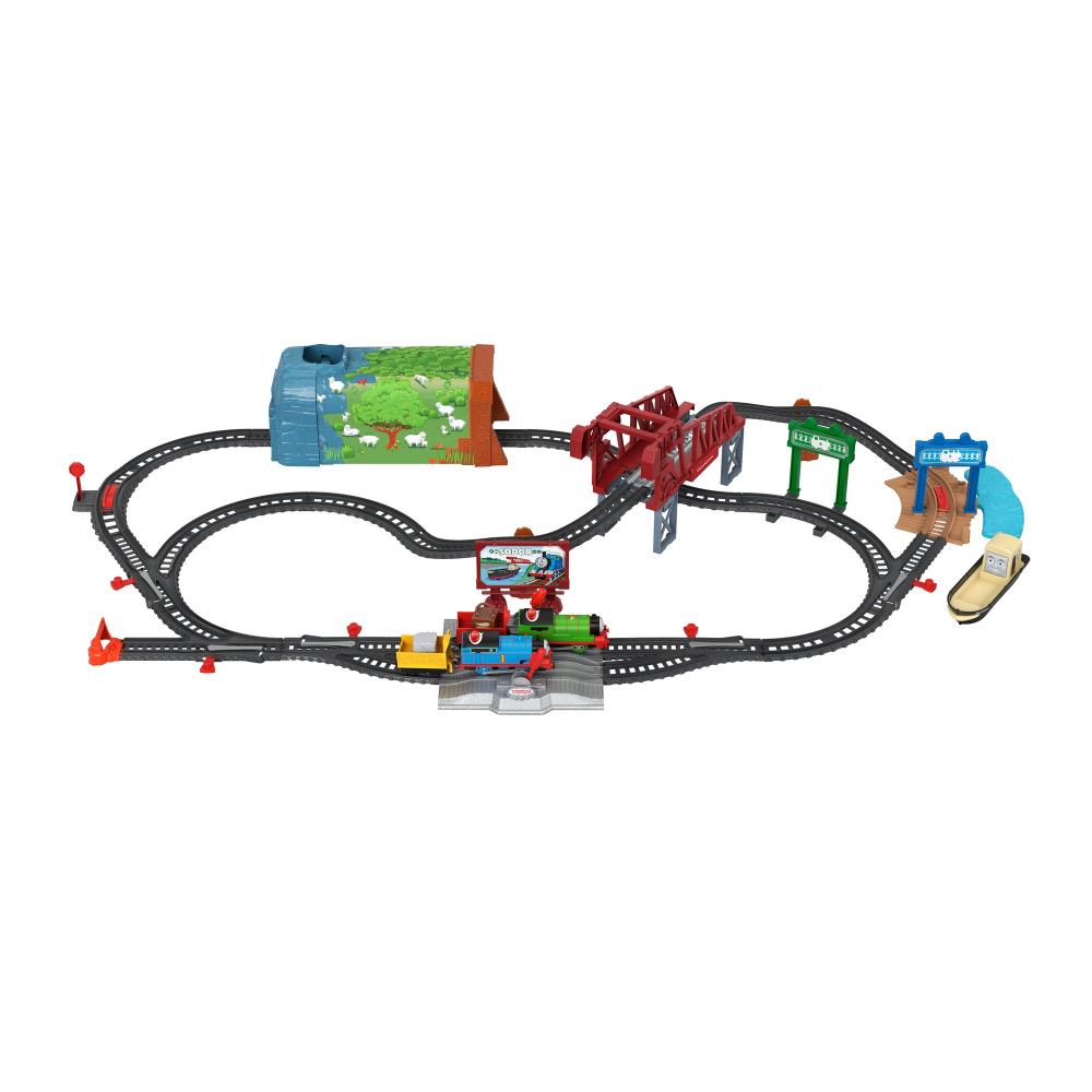 Thomas set motorizat aventuri Sodor