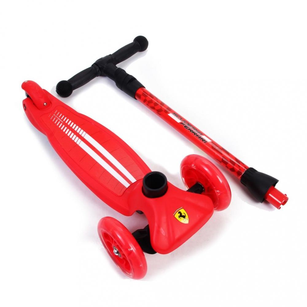 Trotineta pliabila Ferrari Twist rosu