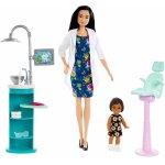 Set mobilier cu papusa Doctor Stomatolog Barbie
