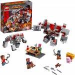 Lego Minecraft batalia pentru piatra rosie