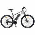 Bicicleta electrica MTB E-BIKE 27.5 inch C1011E gri/alb