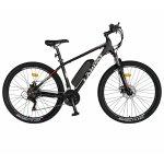Bicicleta electrica MTB E-BIKE 27.5 inch C1011E negru/alb