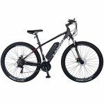 Bicicleta electrica MTB E-BIKE 29 inch C1012E negru/alb