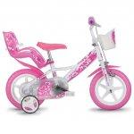 Bicicleta pentru fetite 124 RLN diametru 12 inch