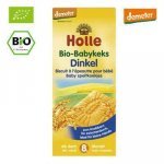 Biscuiti Eco din grau spelt  +8 luni  150 g  Holle Baby Food