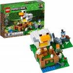 Lego Minecraft Cotetul de gaini