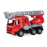 Camion de pompieri din plastic pentru copii Lena Mercedes Arocs