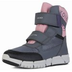 Cizme de zapada Geox J Flexyper Girl Grey Rose 28 (180 mm)