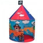 Cort de joaca pentru copii model pirati cu ilustratii grafice