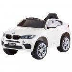 Masinuta electrica Chipolino BMW X6 white cu roti Eva