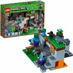 Lego Minecraft pestera cu zombi