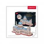 Puzzle 3D Catedrala St. Paul nivel complex 643 piese