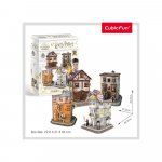 Puzzle 3D Harry Potter 4 in 1 Aleea Diagon 273 piese