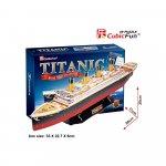 Puzzle 3D Nava mare Titanic 113 piese
