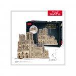 Puzzle 3D Notre Dame 293 nivel complex 293 piese