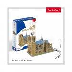 Puzzle 3D Notre Dame nivel mediu 53 piese
