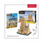 Puzzle 3D Sagrada Familia si brosura 184 piese