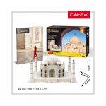 Puzzle 3D Taj Mahal si brosura 87 piese