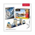 Puzzle 3D Tower Bridge si brosura 120 piese