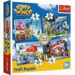 Puzzle Trefl 4 in 1 O echipa extraordinara