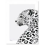 Poster (30x40cm) Serengeti Leopard