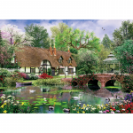 Puzzle 1000 piese Water Lilies