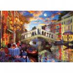 Puzzle 1500 piese Rialto Bridge Venice