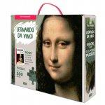 Puzzle Mona Lisa 300 piese+carte