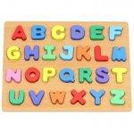 Puzzle lemn alfabet Iso Trade MY17427