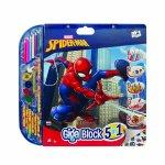 Set pentru desen 5 in 1 Gigablock Spider-man