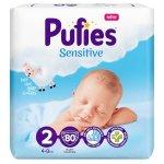 Scutece Pufies Sensitive 2 Mini Maxi Pack 4-8 kg, 80 buc