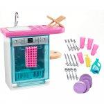 Set Barbie by Mattel Estate Masina de spalat vase cu accesorii FXG35