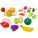 Set alimente diverse fructe si legume si cutit Globo cu velcro