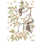 Sticker A3 Branch & Sparrows