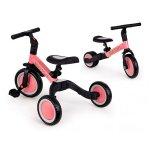 Tricicleta echilibru cu pedale Ecotoys 4 in 1 roz